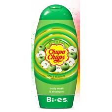 Bi Es Chupa Chups Body Wash & Shampoo Apple Детски душгел и шампоан Ябълка