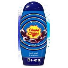 Bi Es Chupa Chups Body Wash & Shampoo Cola Детски душгел и шампоан Кола