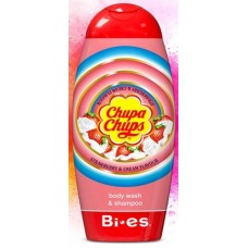 Bi Es Chupa Chups Body Wash & Shampoo Strawberry Детски душгел и шампоан Ягода