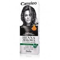 D CAMELEO Herbal Крем къна 75гр. 1.0 black