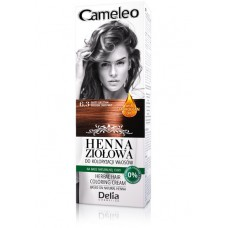 D CAMELEO Herbal Крем къна 75гр. 6.3 golden chestnut