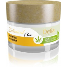 D BOTANICAL Flow Protective Day Cream with Hemp Oil Защитен Дневен Крем с Коноп