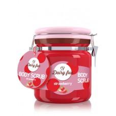 D Dairy Fun body peeling Пиилинг за тяло Ягода