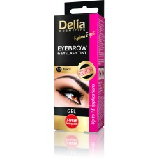 D Eyebrow Expert Instant Eyebrow & Lashes Tint - Gel Black 1.0 Инстантна Гел Боя за Вежди и Мигли