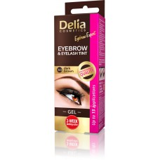 D Eyebrow Expert Instant Eyebrow & Lashes Tint - Gel Dark Brown 3.0 Инстантна Гел Боя за Вежди и Мигли
