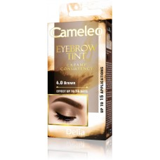 D CAMELEO EYEBROW TINT CREAM 4.0 BROWN Крем Боя за Вежди