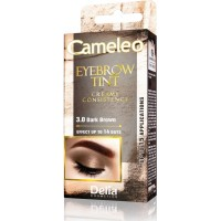 D CAMELEO EYEBROW TINT CREAM 3.0 DARK BROWN Крем Боя за Вежди