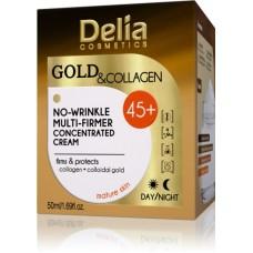 D Gold & Collagen Anti-Wrinkle Cream Concentrate 45+ Крем против бръчки Злато & Колаген