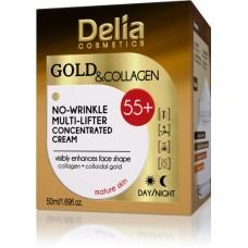 D Gold & Collagen Anti-Wrinkle Cream Concentrate 55+ Крем против бръчки Злато & Колаген