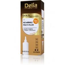 D Gold & Collagen No-Wrinkle Multi - Filler Cream Concentrate Филър против бръчки