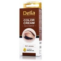 D Henna боя за вежди комплект Brown