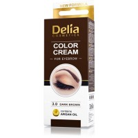 D Henna боя за вежди комплект Dark Brown