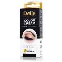 D Henna боя за вежди комплект Black