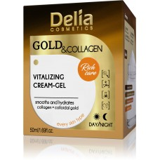 D Gold & Collagen Vitalizing Cream - Gel Витализиращ Крем Гел