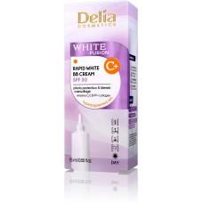 D White Fusion C+ Rapid White BB Cream SPF30 Изсветляващ BB Крем за лице