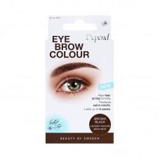 DEPEND 4901 Perfect Eye Brow Colour BROWN BLACK Боя за вежди Кафяво / Черна