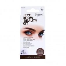 DEPEND 4932 Perfect Eye Eyebrow Beauty Kit ASH BLONDE Сенки за Вежди Пепеляво Русо