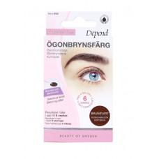 DEPEND 9002 Eyebrow Colour BROWN BLACK Боя за вежди и мигли Кафяво / Черна